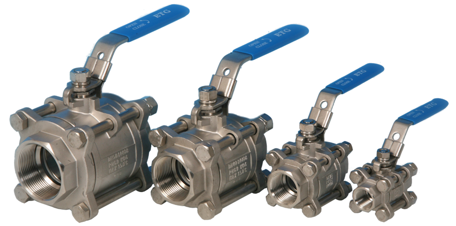 stainless steel general purpose ball valves