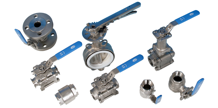 stainless steel high performance valves