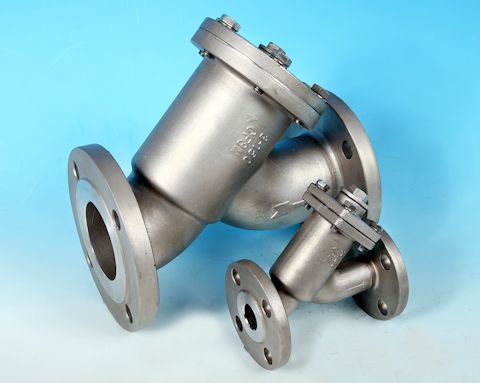 Stainless Steel Y-Type Strainer Flanged BS4504 DIN PN16